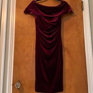 Vince Camuto Velvet dress